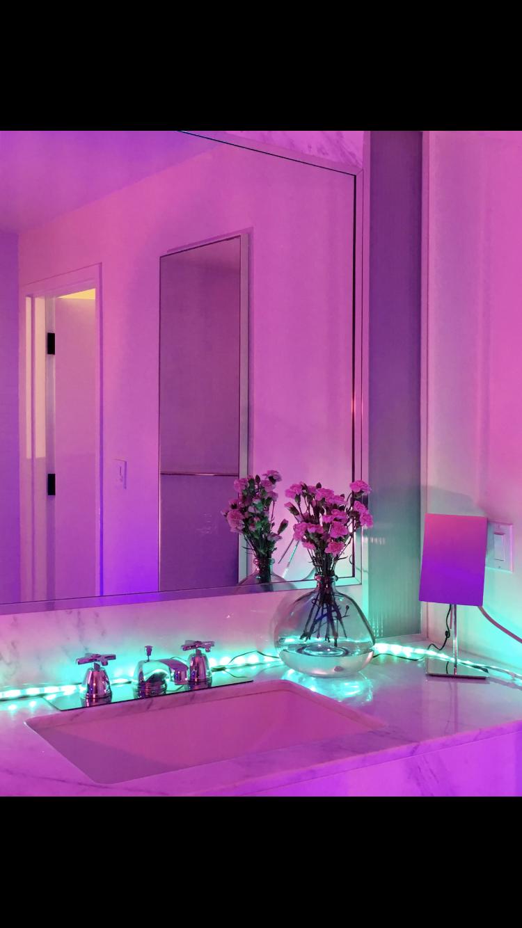 neon decor lights room serve soft confetti electric
