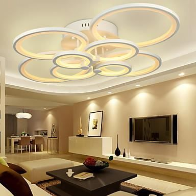 PLAFONNIER Plafonnier LED circulaire cercle modern luxe | Lighting ...