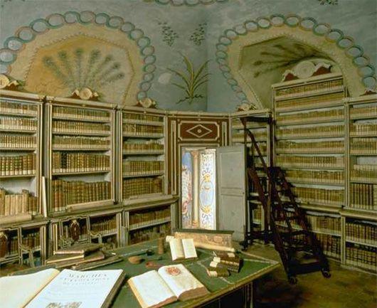 Castello di Masino Library (Caravino, Italy)