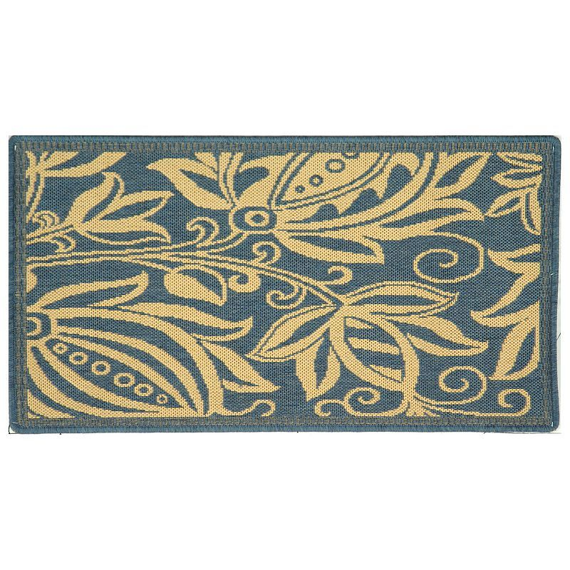 Safavieh Courtyard Floral Indoor Outdoor Rug, Multicolor