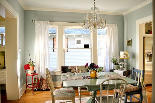 Simple Dining Room Color Ideas: Dining Room Photo Tour SEVERAL Easy DIY Projects Mixed In