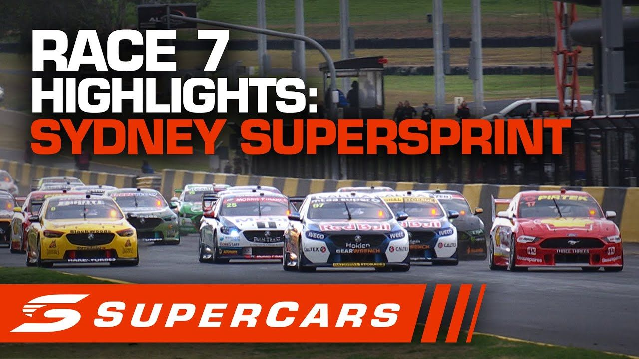 Highlights Race 7 Sydney SuperSprint Supercars 2020 in