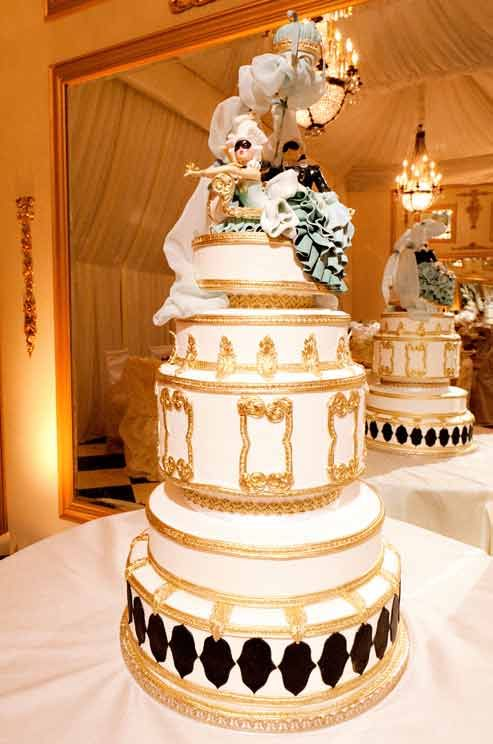 Cake Opera Co. Wedding Cakes, Unique, Custom || Colin Cowie Weddings