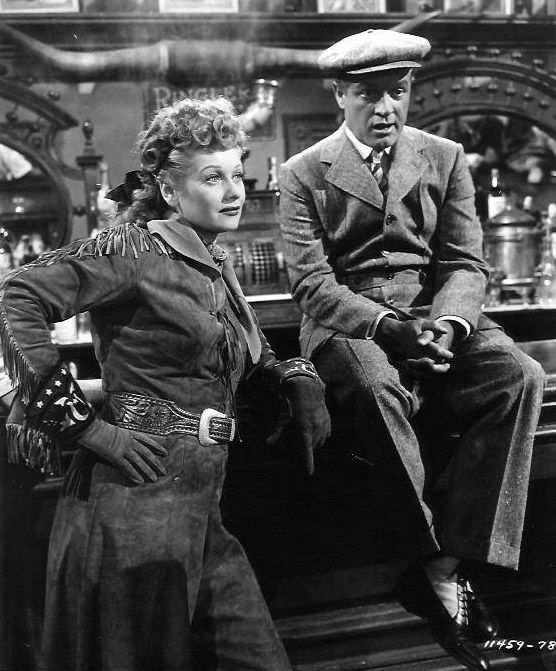"Lucille Ball and Bob Hope ""FANCY PANTS"" 1950"