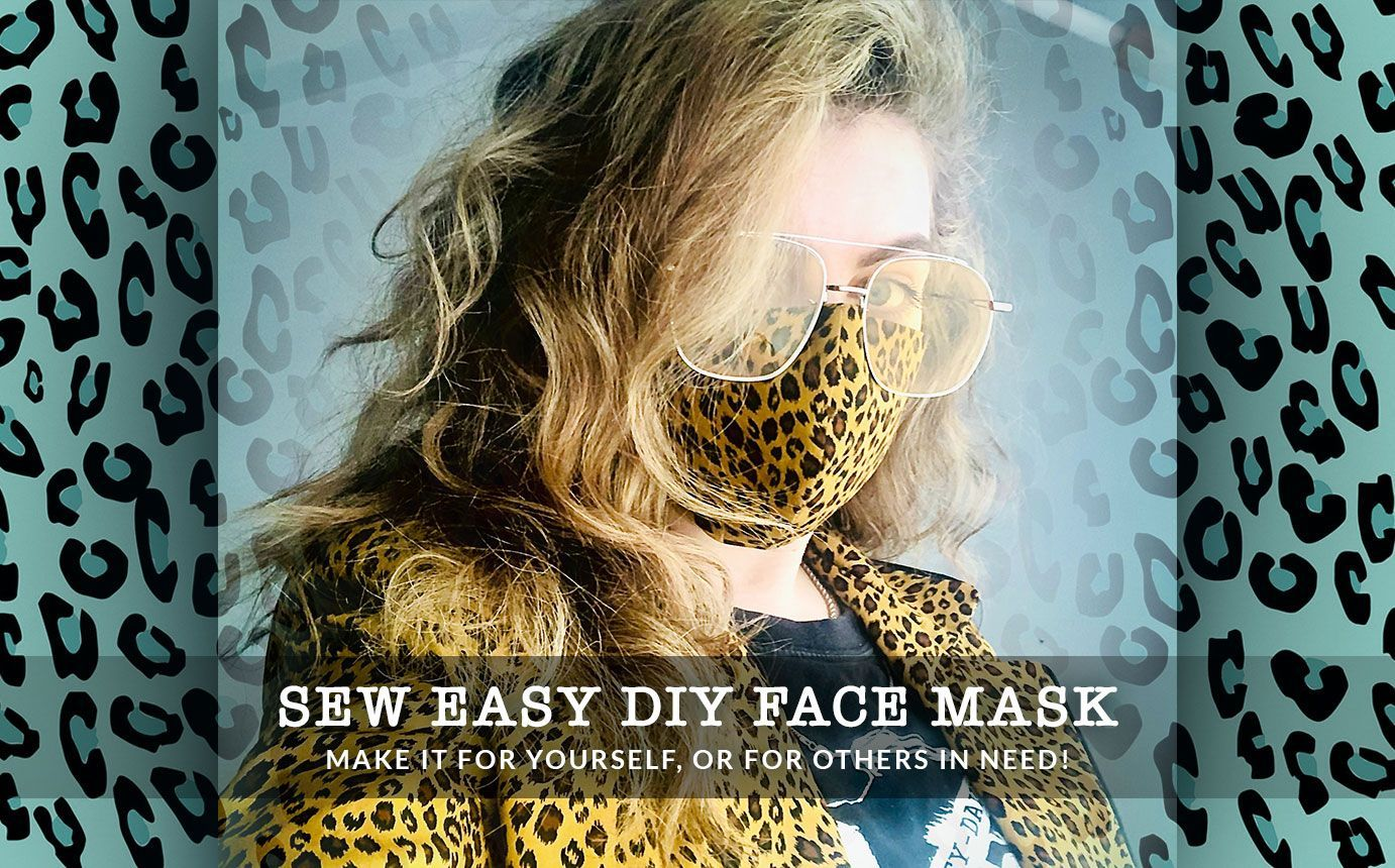 Face Mask DIY Create Your Own Washable Face Mask With