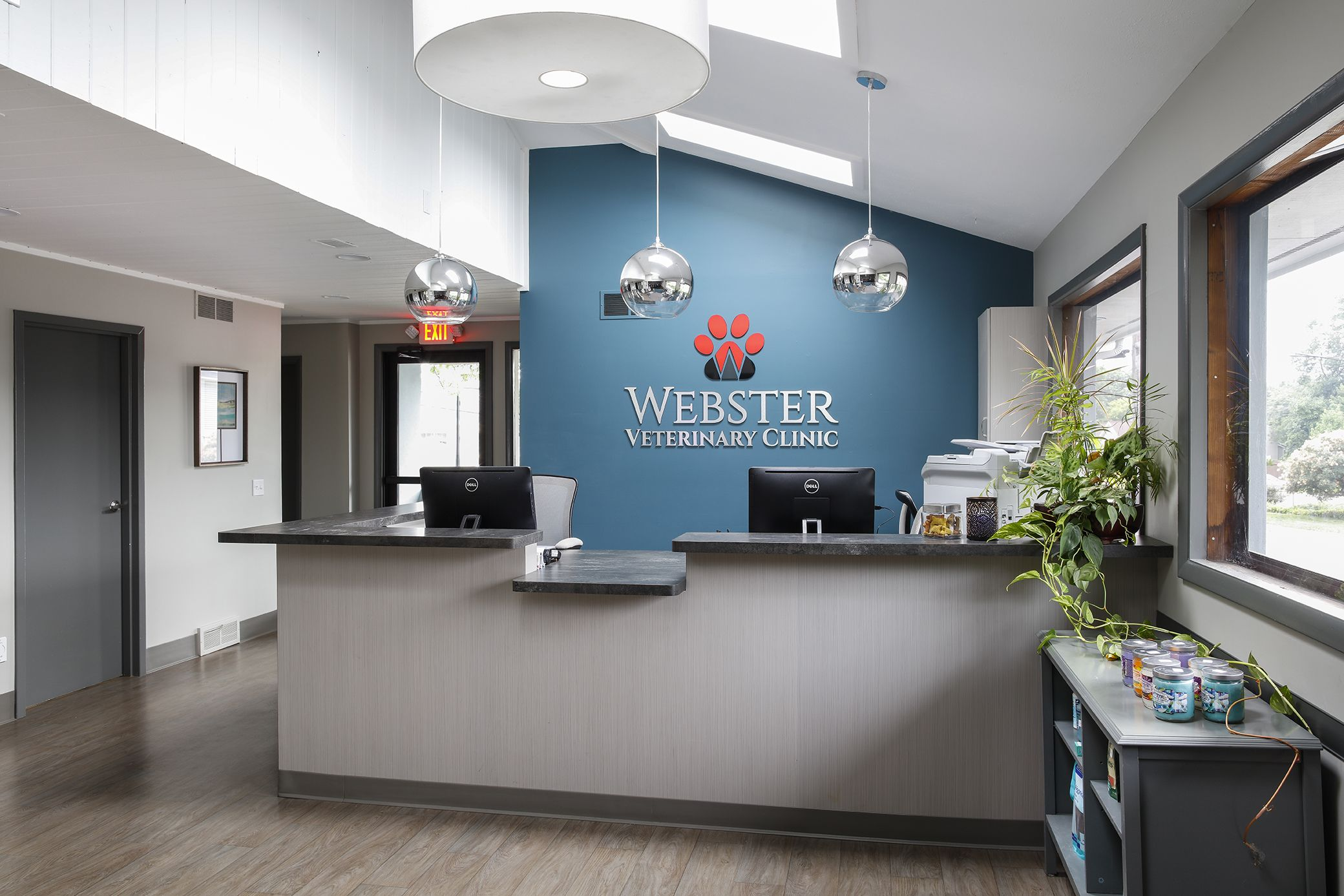 Webster Veterinary Clinic Jason Longo Interior Design Hospital