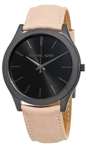 7ffb95158a5f Michael Kors Slim Runway Black Dial Men s Casual Watch MK8510 Casual  Watches