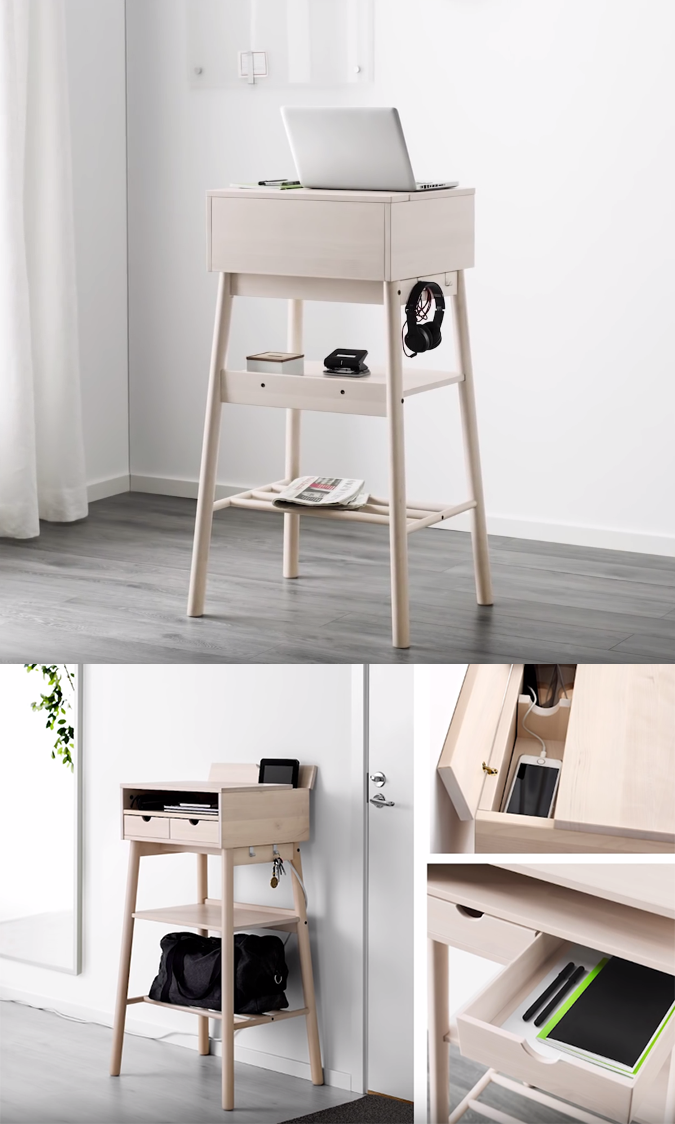 Knotten Standing Table Ikea 2017 I Want A Home