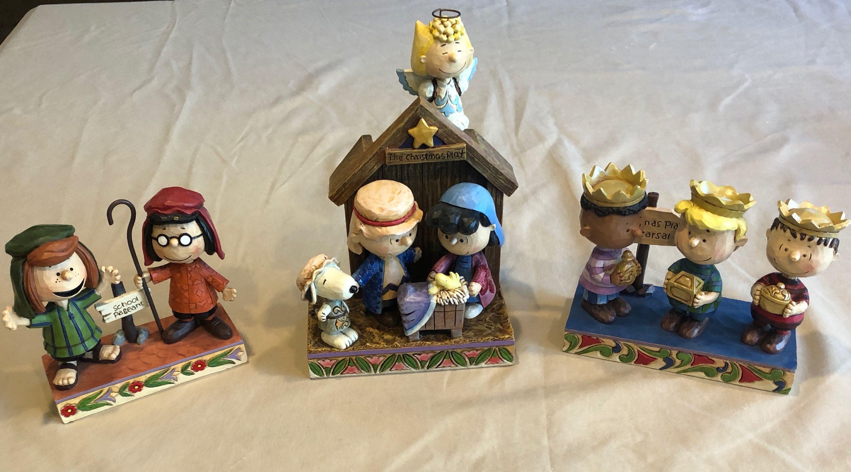 Amazon.de: Enesco Peanuts by Jim Shore Snoopy Woodstock Weihnachtszug