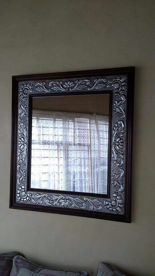 Espejo repujado, 1x90 | Repujado | Pinterest | Repujado, Aluminio y ...