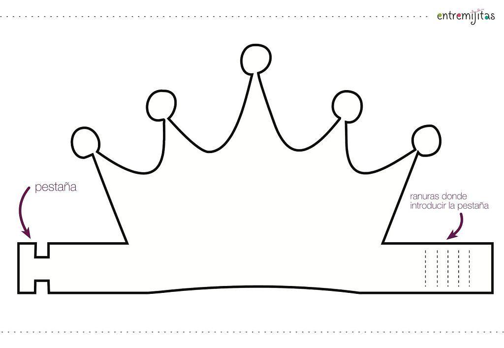 Ideas con goma eva para cumpleaños: coronas | Coronas de ...