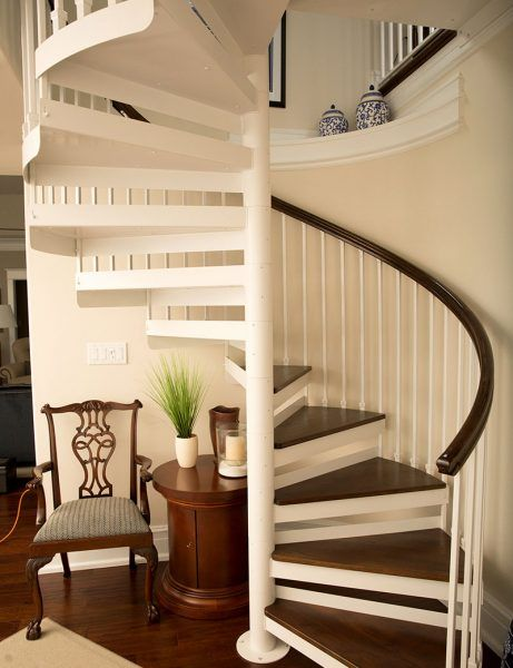 Metal Spiral Staircase Photo Gallery | The Iron Shop Spiral Stairs