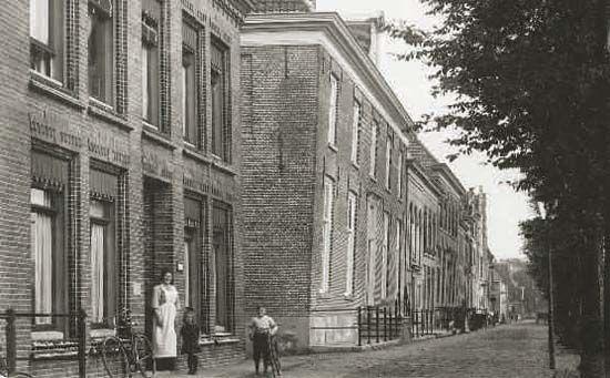 Westerhaven 10 te Medemblik omstreeks 1910