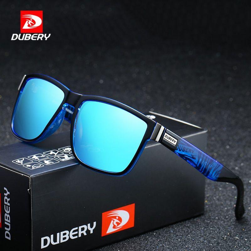 a105cbca90acf DUBERY Tons de Design Da Marca Óculos Polarizados Homens Motorista do Sexo  Masculino Óculos de Sol Do Vintage Para Homens UV400 Oculos Espelho Spuare  Verão ...