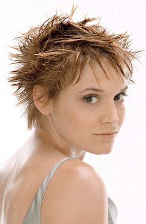 Spiky Hairstyles Spiky Short Hair Over Ears  Short Spiky Hairstyles For Women