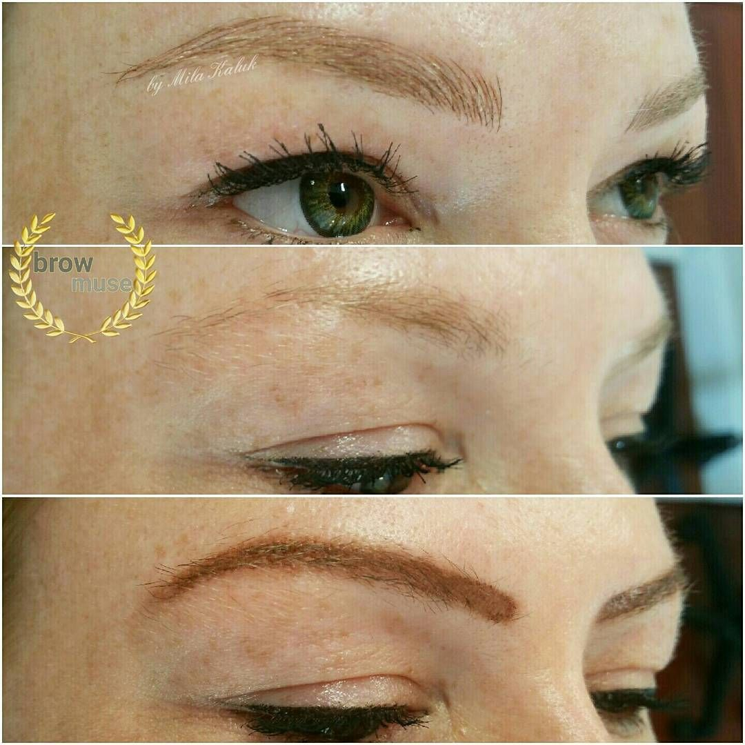Pin on Mircoblading eyebrows