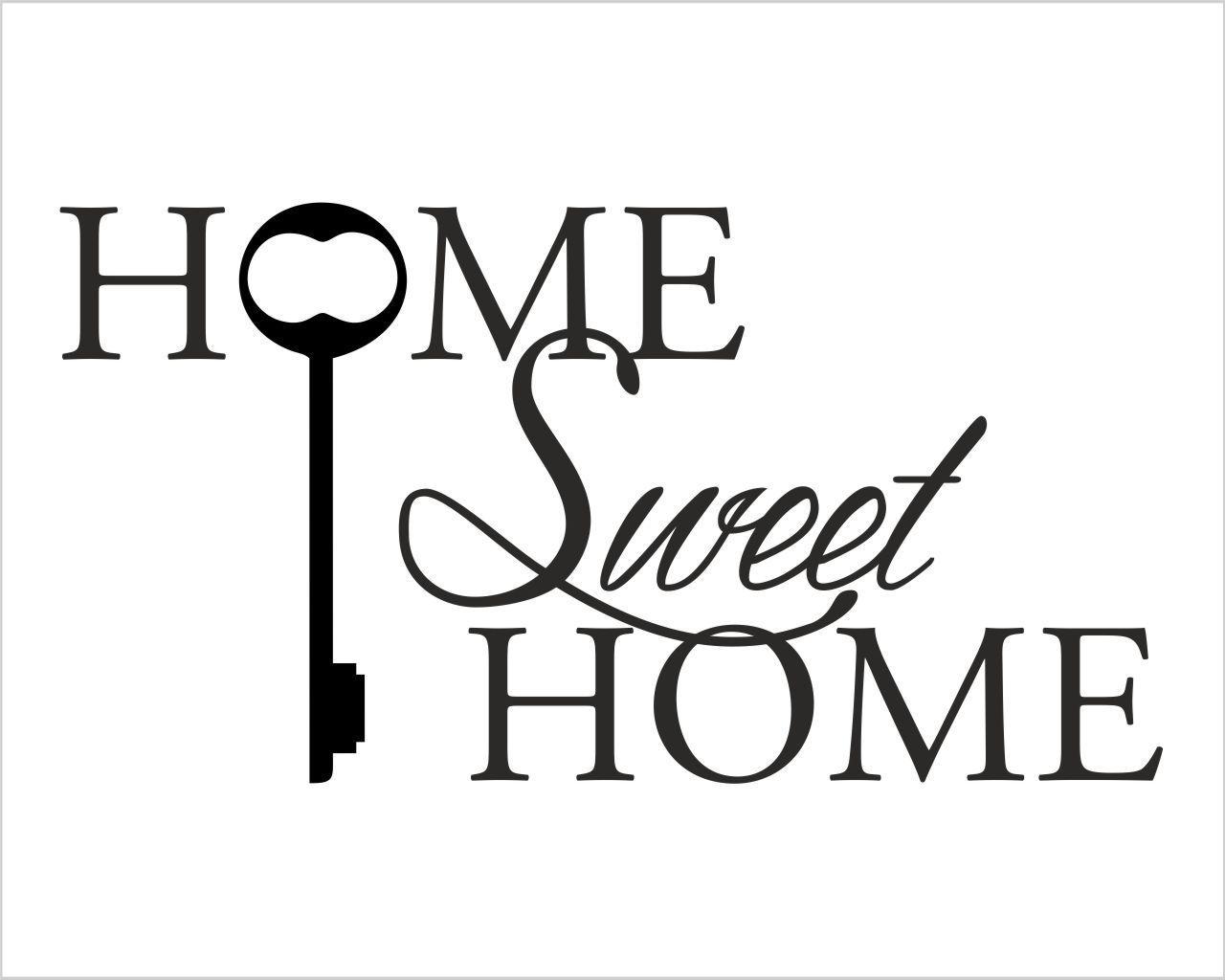 Adesivi Murali Home Sweet Home.Adesivo Murale Casa Home Sweet Home Appendiabiti Design Interni Decori Adesivi Murali Wall Stickers Sweet Home Design Sweet Home Wall Stickers Home