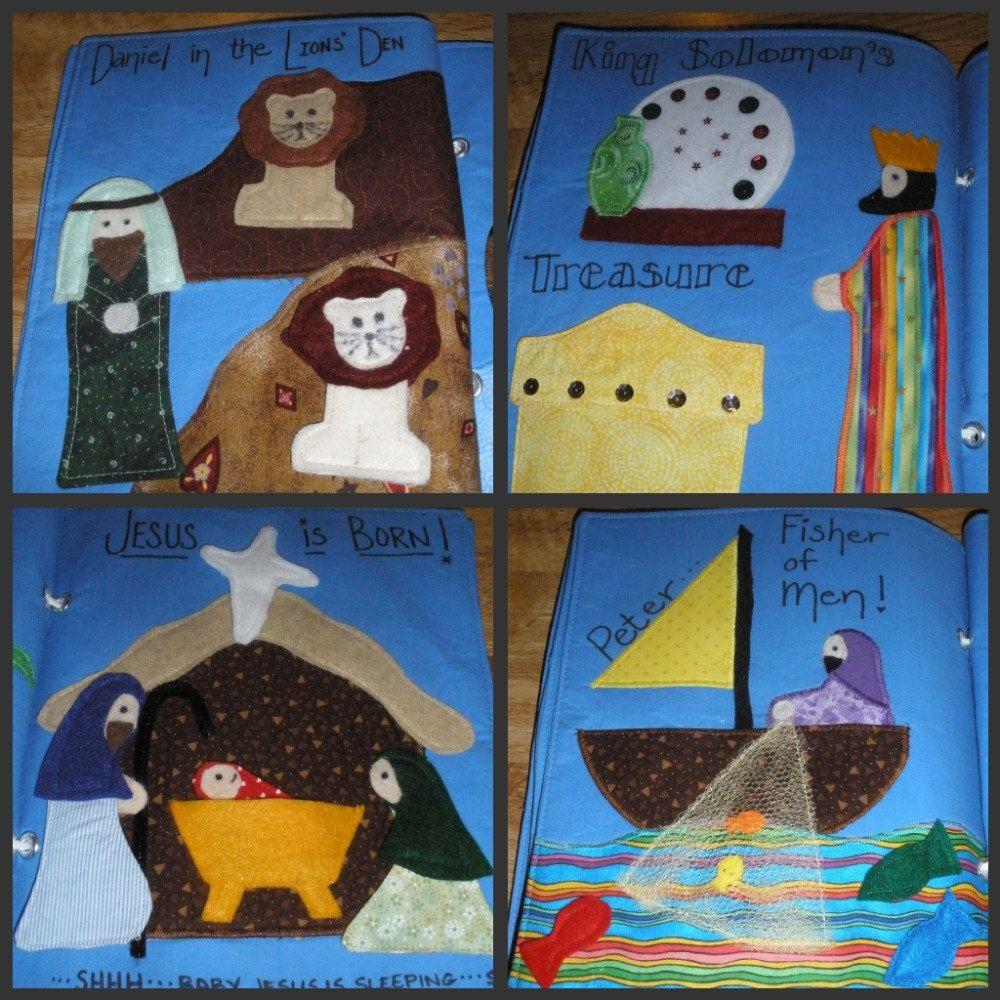 Best 25 bible quiet book ideas on pinterest bible story for The idea door quiet book