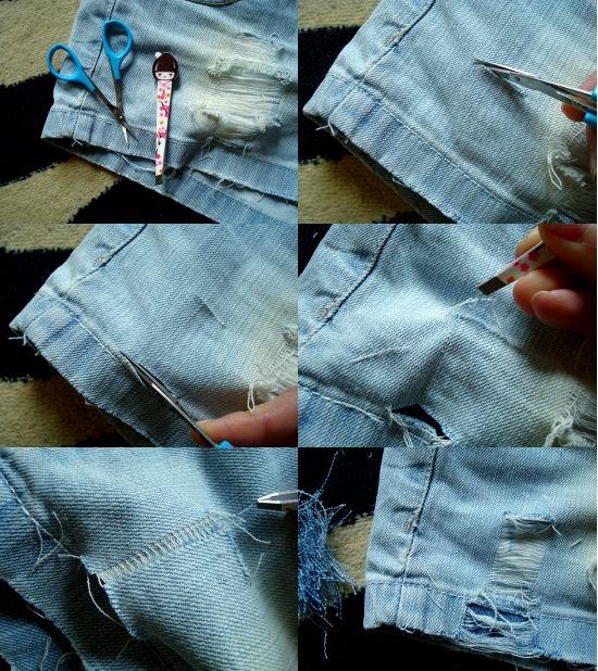 DIY - ripped denim shorts. | DIY | Pinterest | The o'jays, Denim ...