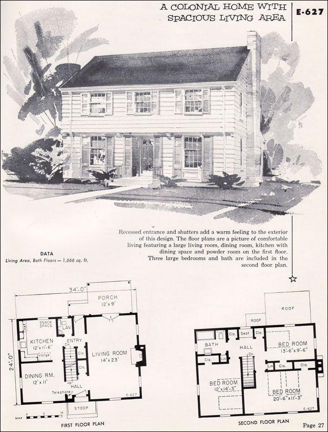 Small colonial home designs House design ideas