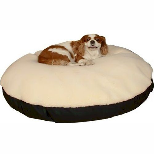 Snoozer Pet Dog Cat Puppy Soft Comfortable Durable Round Sherpa Top Extra Large Sleeping Rest Bed Colonial P Top Dog Beds Dog Bed Large Dog Beds For Small Dogs