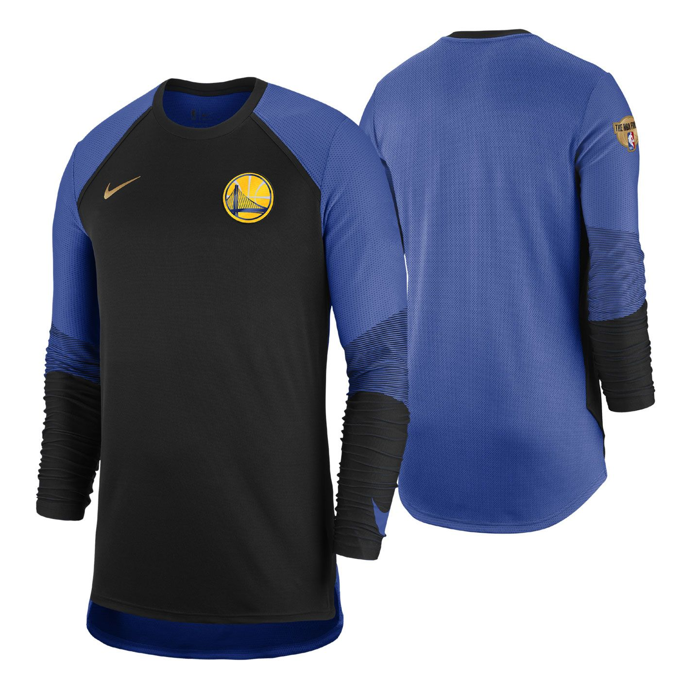 0bd011f65 Golden State Warriors · Long Sleeve Tees · Mens Fitness · Nba Finals  Warriors, Warriors Gear, Compression Sleeves, Nike Tops, Nike Dri Fit