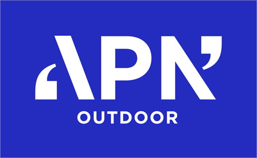 Hulsbosch Unveils New Logo And Branding For Apn Outdoor Logo Designer Outdoor Logos Advertising Logo Logo Design
