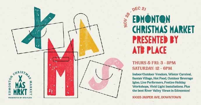 Edmonton's Adorable New Christmas Market Officially Opens