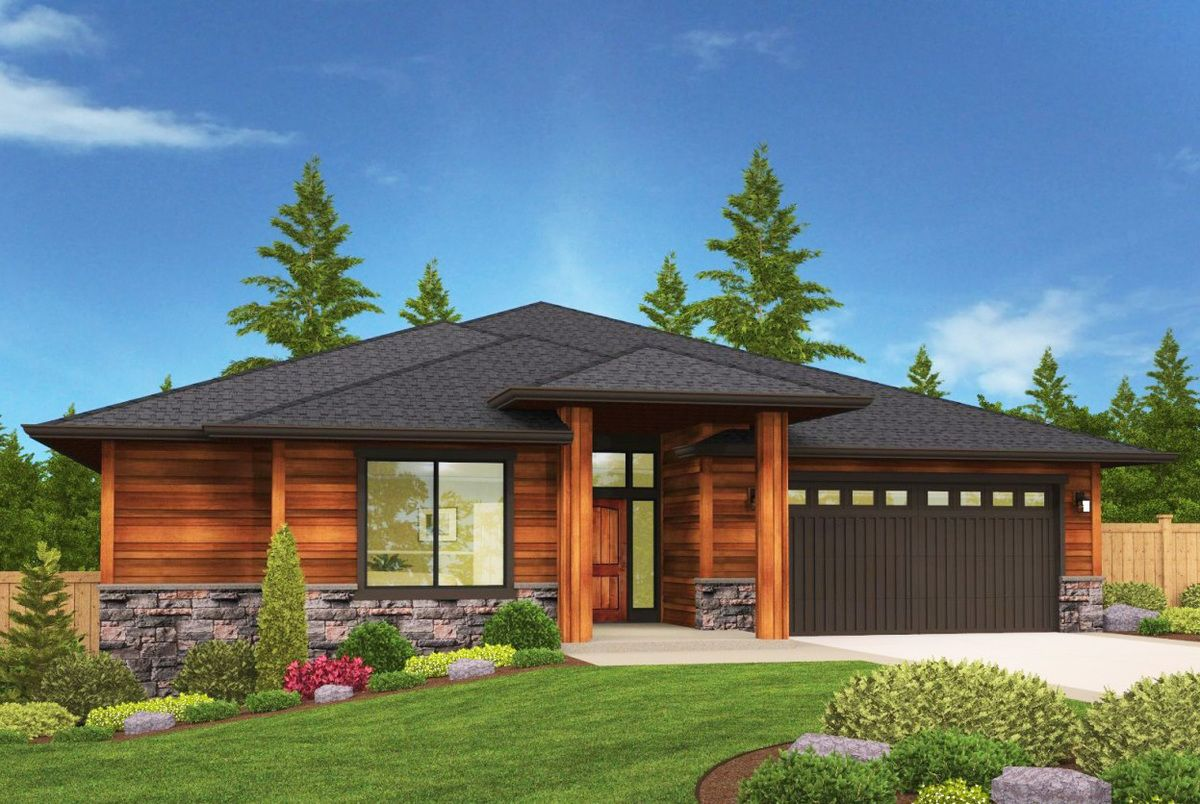 Plan 85044ms Modern Prarie Ranch House Plan With Covered Patio Prairie Style Houses Ranch House Plan Ranch House Plans