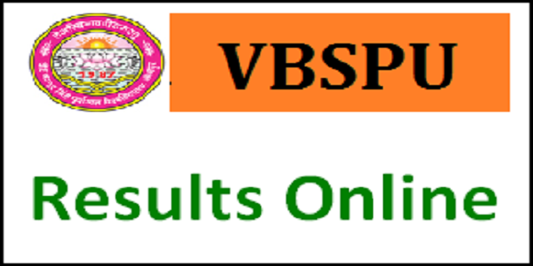 VBSPU Result 2019 - BA, BCom, BSc I II III year Results, Students