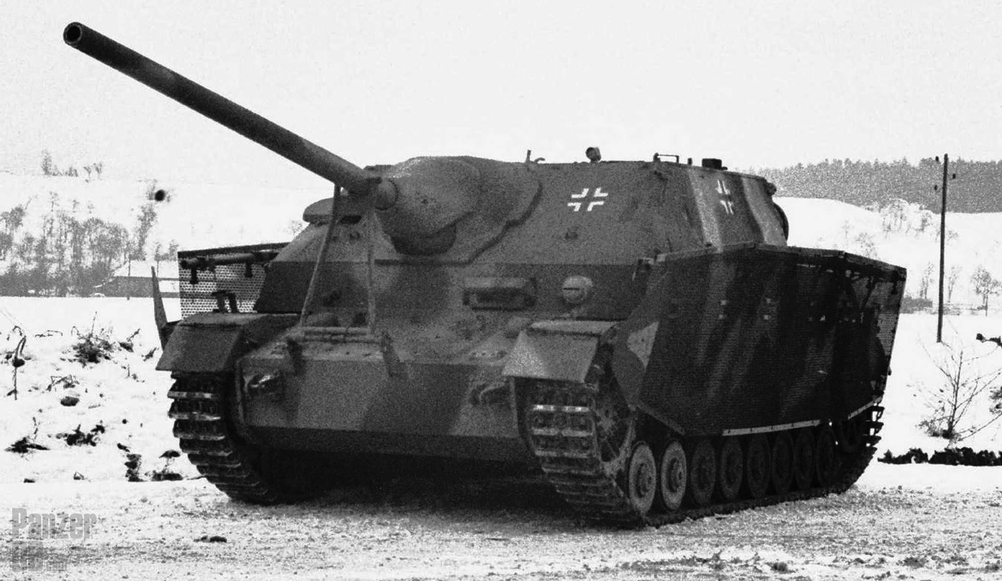 Jagdpanzer IV/70 (A) mit Schürzen Drahtgeflecht (Sd.Kfz. 162/1 ...