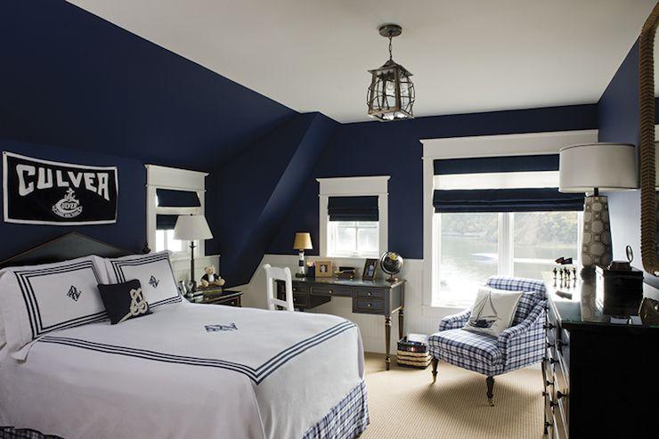 Navy Blue Boys Bedrooms