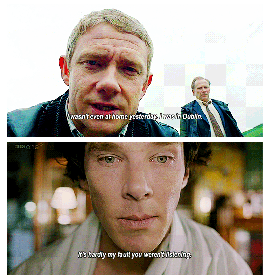 I'm with Sherlock on this one. lol