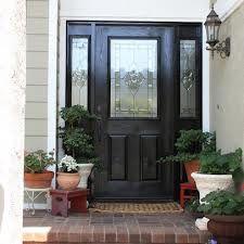 Recessed Front Door Entryway