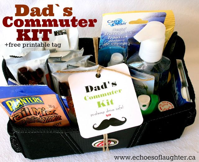 Dad's Commuter Kit for the Dad who travels for work! Includes some ...