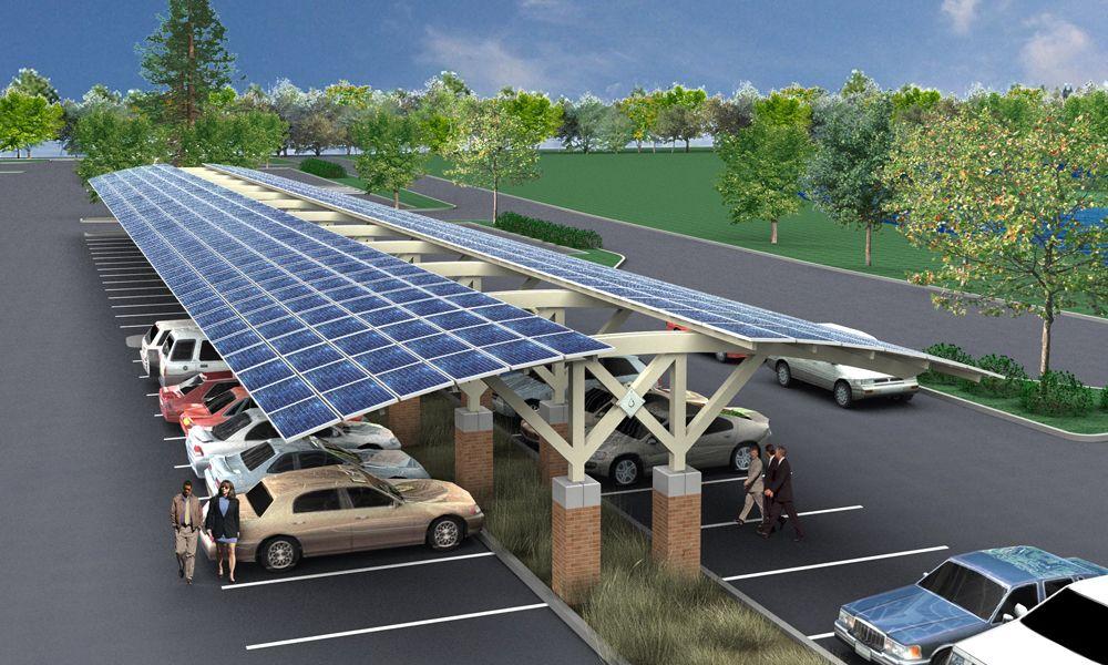 Estacionamento Solar Ecohouse Amp Ecoprodutos Em 2019