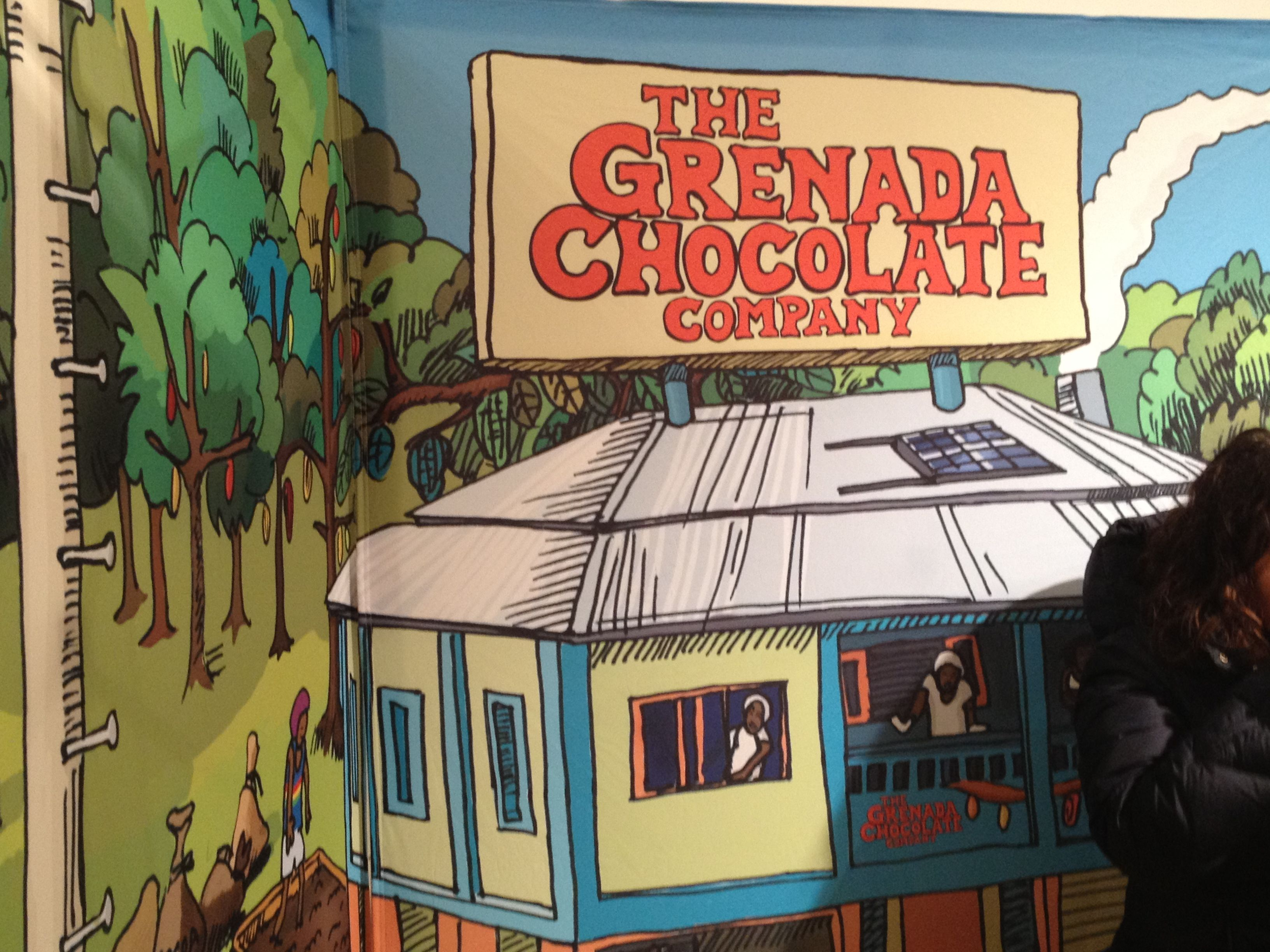 Chocolates from the Grenada Chocolate  Company at the NY Chocolate Show 2012 in NYC