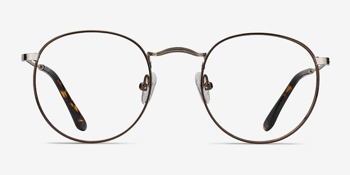 a6d7bbaaa9b Daydream Brown Golden Metal Eyeglasses from EyeBuyDirect. A fashionable  frame with great quality and