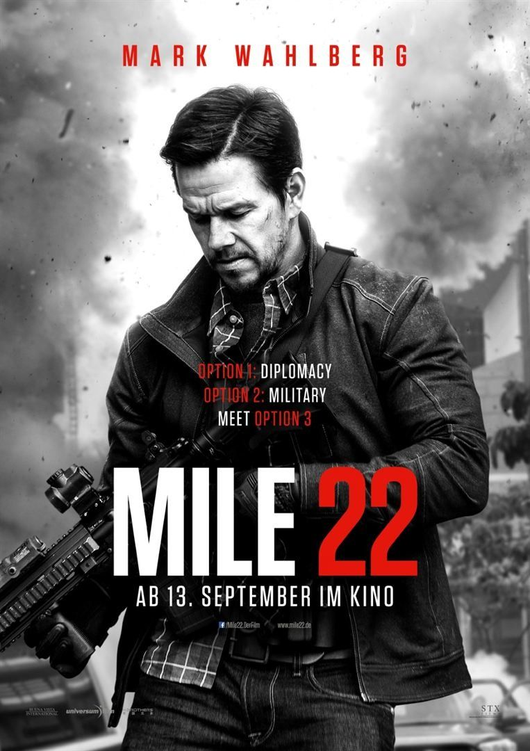 Mile 22 new film posters
