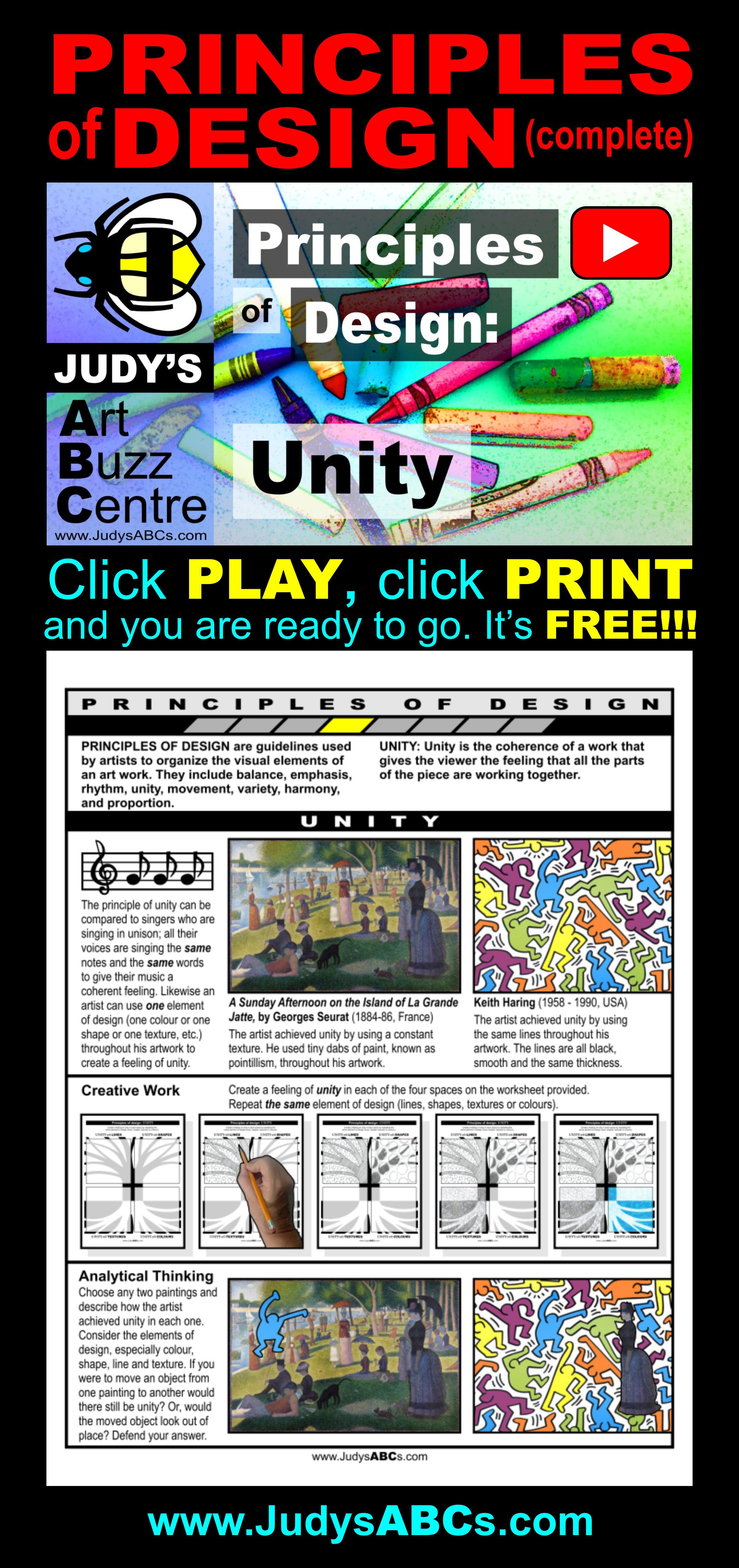 Find FREE intermediate curriculum aligned art lessons for the