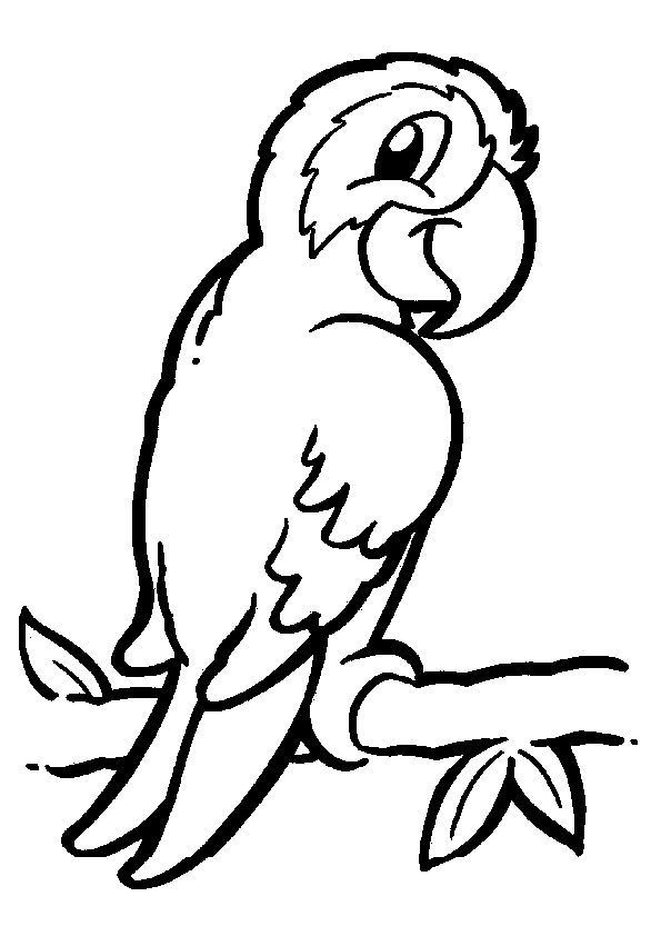 Easy Animal Coloring Pages Coloring Pages For Kids Coloring