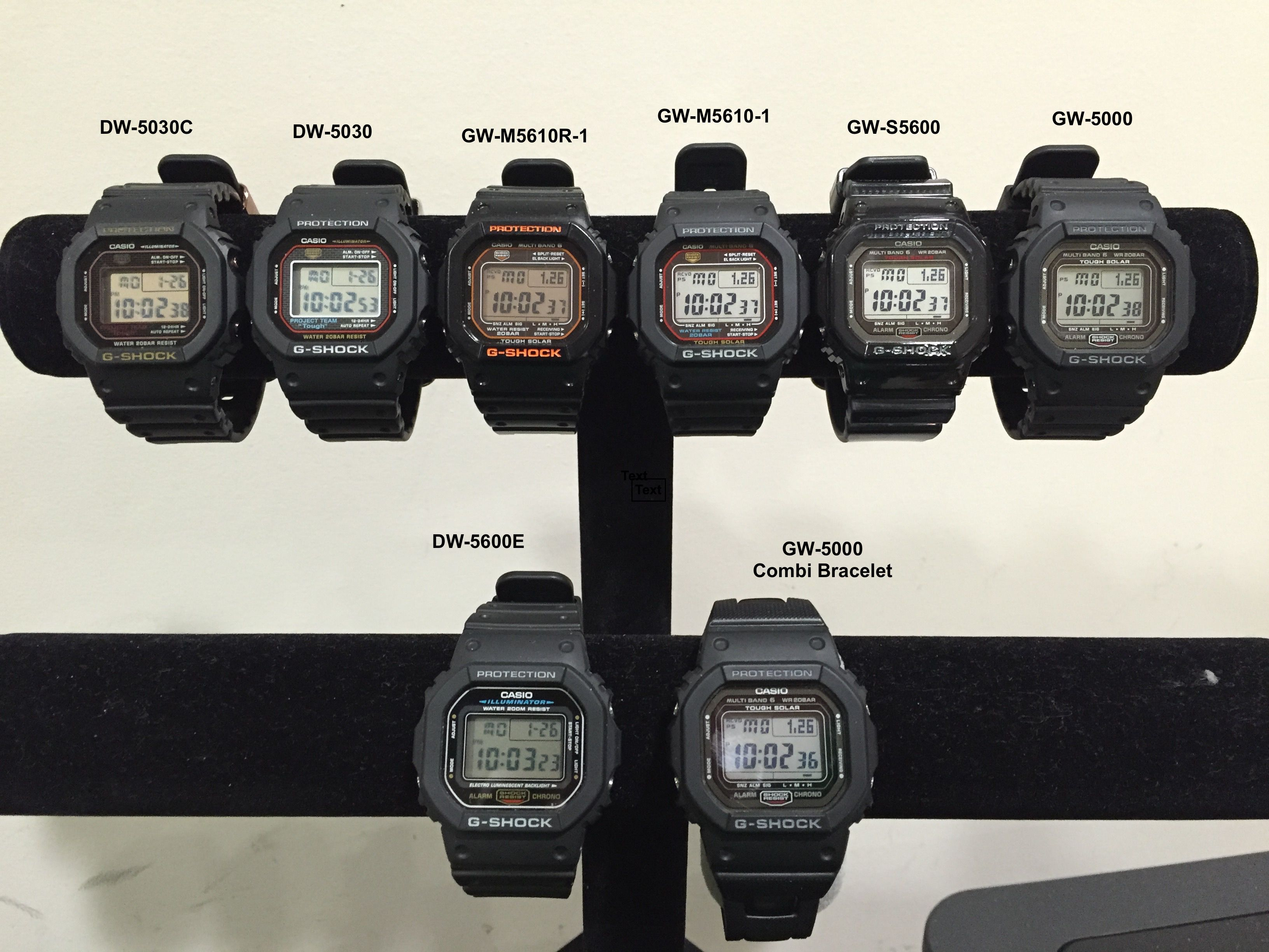 8d451fb4703 Casio G-Shock Square - Small Collection
