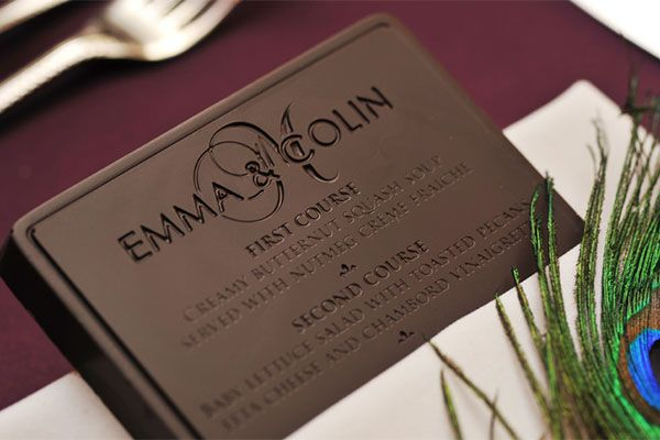 edible wedding invitations Wedding