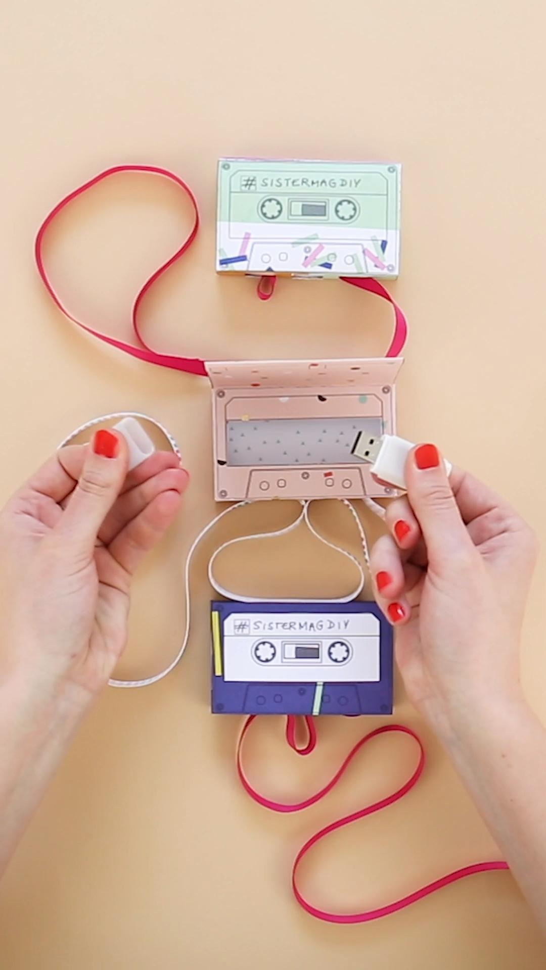 USB Box DIY -   19 diy Box creative ideas