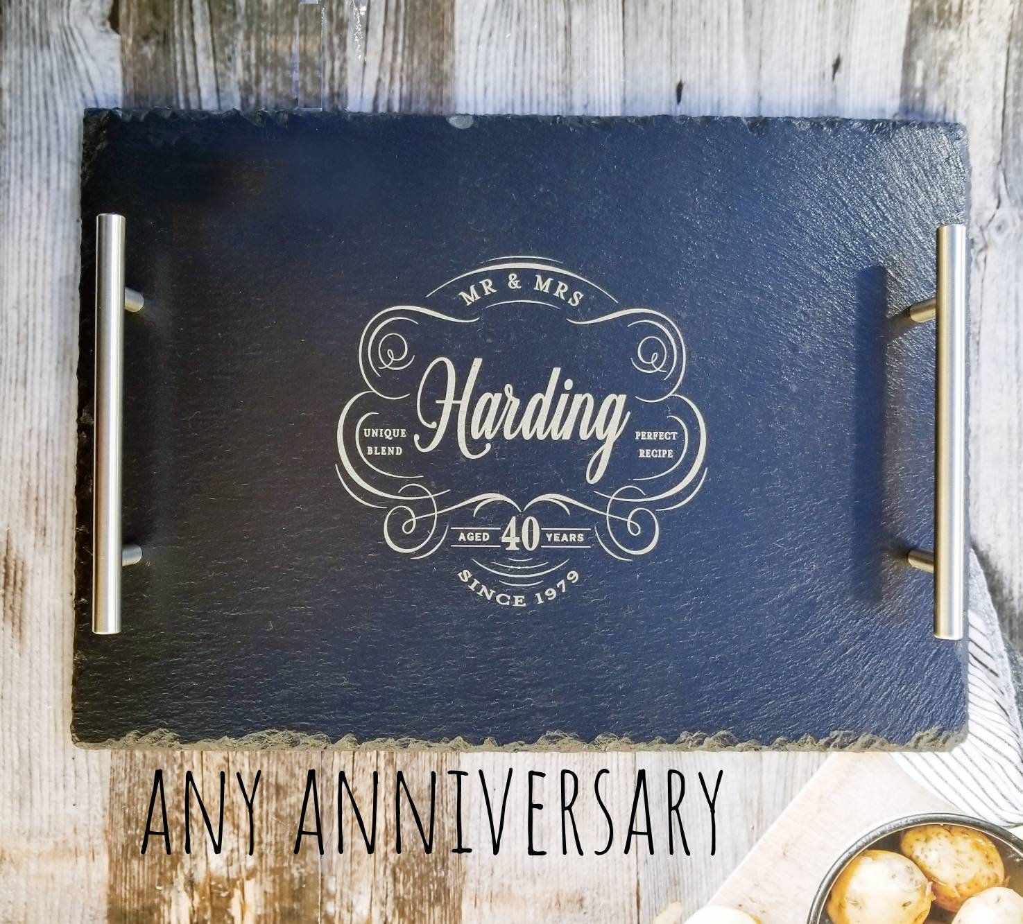 Anniversary Gift Personalized, Anniversary Gift for