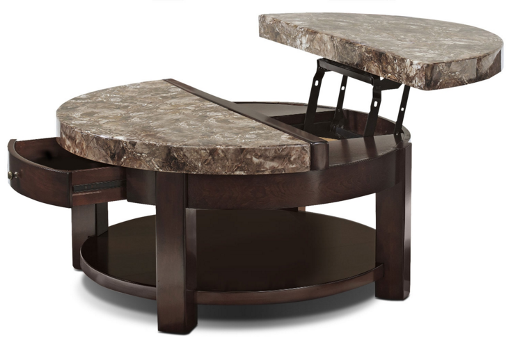 Ikea Lift Top Coffee Table Round With Marble Top Coffee Table