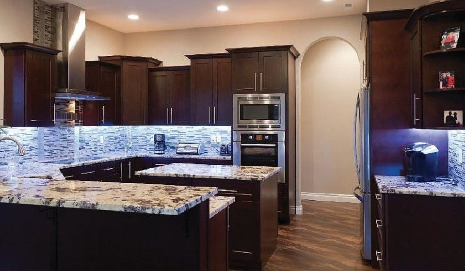 Ju0026K Cabinets Is Offering Wholesale Prices On All Of Their Black Coffee  Maple Glaze Kitchen Cabinets
