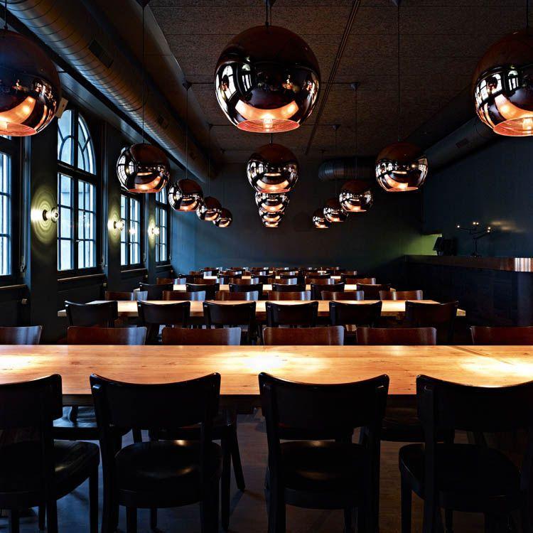 UNION restaurant, designed by Aurelie Blanchard