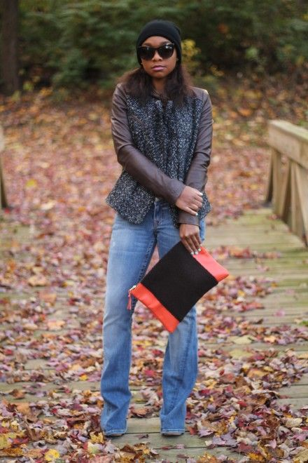 Layers & leaves via StyleLust Pages: Mixing Textures