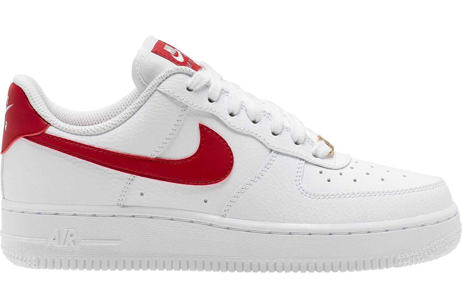 nike air force 1 07 w schoenen wit rood,nike air force rood ...